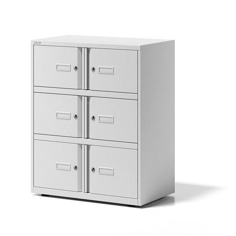 Schließfachschrank BISLEY Essentials, 6 Türen