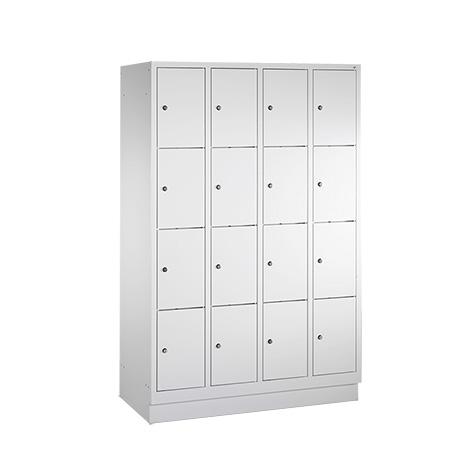 Schließfachschrank PAVOY ® mit 4 x 5 Fächern, Breite 1230 mm