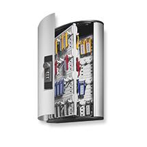 Schlüsselkasten aus Aluminium mit Zahlenschloss