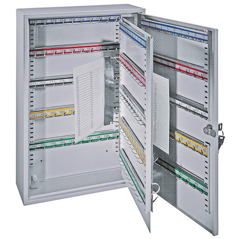 Schlüsselschrank mit 1 Tür. 21 bis 300 Haken