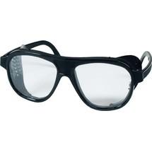 Schmerler Schutzbrille, EN 166 Bügel schwarz, Scheibe klar Nylon, Kunststoff