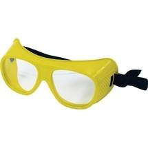 Schmerler Schutzbrille, EN 166 splitterfreie Scheiben klar Kunststoff