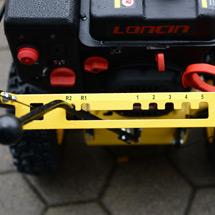 Schneefräse Basic 56. Kehrbreite 560 mm