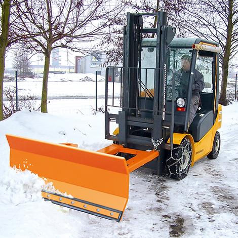Schneeschieber Basic. Schildbreite 1500/1800 mm, lackiert oder verzinkt