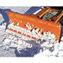 Schneeschieber Profi. Schildbreite bis 2400 mm
