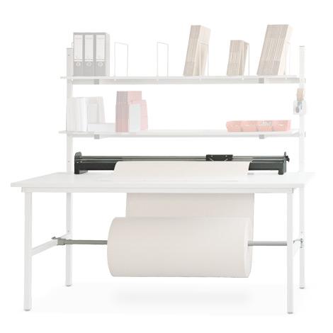 Schneidvorrichtung und Untertischachse, für Packtisch 1600 mm
