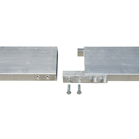 Schnellbau-Portalkran, Stationäre Ausführung, Einfachträger teilbar