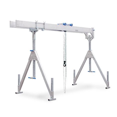 Schnellbau-Portalkran - Stationäre Ausführung, mit Doppelträger