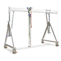 Schnellbau-Portalkran - Verfahrbare Ausführung