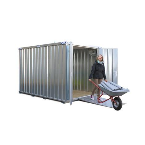 Schnellbaucontainer, Höhe 2.100 mm