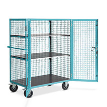Schrankwagen Ameise®. 1 fester und 2 höhenverstellbare Böden. Tragkraft 600kg