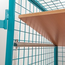 Schrankwagen Ameise®, Gitterwände, mit Doppelflügltür
