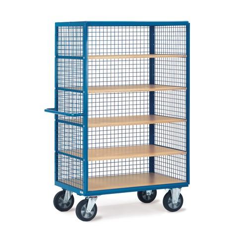 Schrankwagen fetra®, 3 Gitterwände