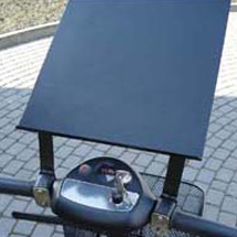Schreibpult am Lenker f. Elektro-Transportroller AMEISE 1000
