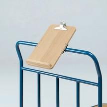 Schreibtafel für Tischwagen fetra®, Format DIN A4
