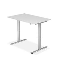 Schreibtisch BASIC. Höhenverstellbar. 2 Breiten zur Auswahl. Tiefe 800 mm