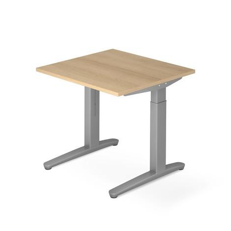 Schreibtisch, C-Fuß höhenverstellbar