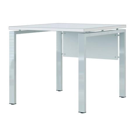 Schreibtisch fresh 4 fu gestell jungheinrich profishop for Schreibtisch quadratisch
