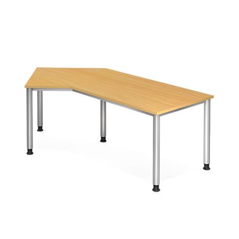 Schreibtisch HS21, 210 x 113 cm; Winkelform 135°