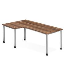 Schreibtisch HS82, 200 x 120 cm; Winkelform 90°