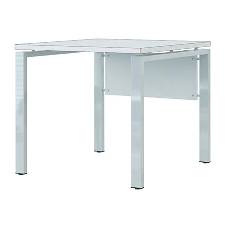 Schreibtisch mit 4-Fuß-Gestell Fresh