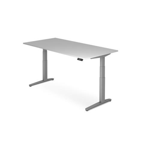 Schreibtisch mit Memoryschalter, C-Fuß höhenverstellbar