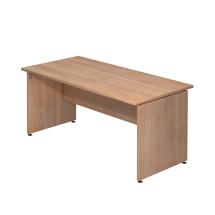 Schreibtisch mit Wangengestell