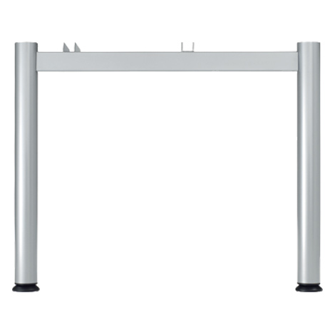 Schreibtisch Profi Volleck 90°. Höhe 650-850 mm. 4-Fuß-Gestell