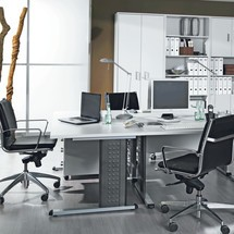 Schreibtisch Starter, C-Fuß Gestell