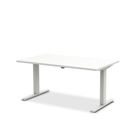 Schreibtisch UP&DOWN 2, T-Fuß, höhenverstellbar