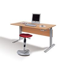 Schreibtische, manuell höhenverstellbar