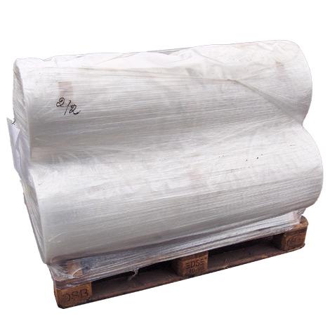 Schrumpffolie aus Polyethylen. Länge bis 200m