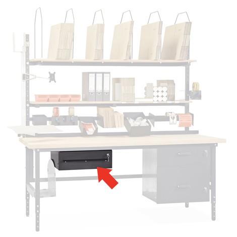 Schublade, abschließbar, für Packtisch Classic und Multiplex