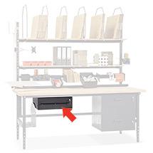 Schublade, abschließbar, Stahl (Nutzmaß BxTxH mm: 490x450x160)