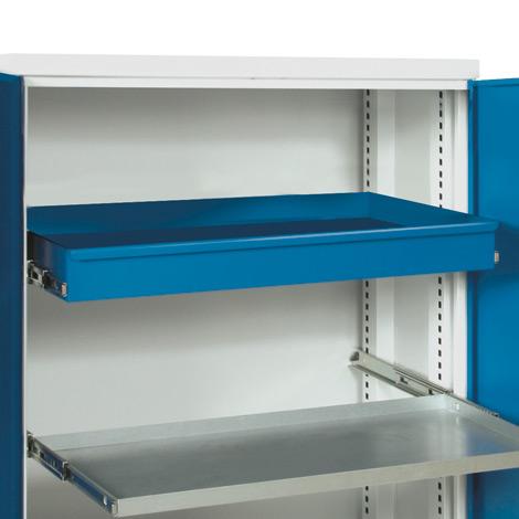Schublade für Schrank B x T 950x500 mm, blau