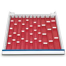 Schublade Höhe 50mm für Werkbänke Tiefe 750 mm