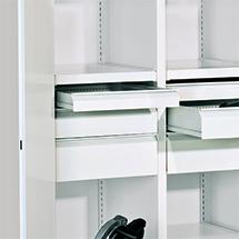 Schublade, Höhe 75mm für Schrank-Breite 415mm