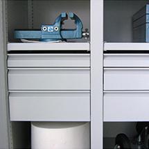 Schublade, Höhe 75mm für Schrank-Breite 925mm