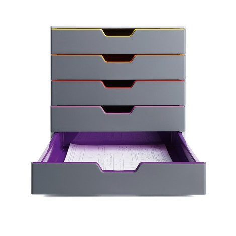 Schubladenbox durable varicolor jungheinrich profishop for Schubladen ordnung