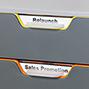 Schubladenbox VARICOLOR® mit farbigen Schubladen in hochwertiger Qualität