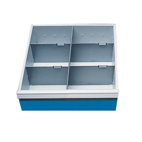 Schubladeneinteilung für Kompaktwerkbänke