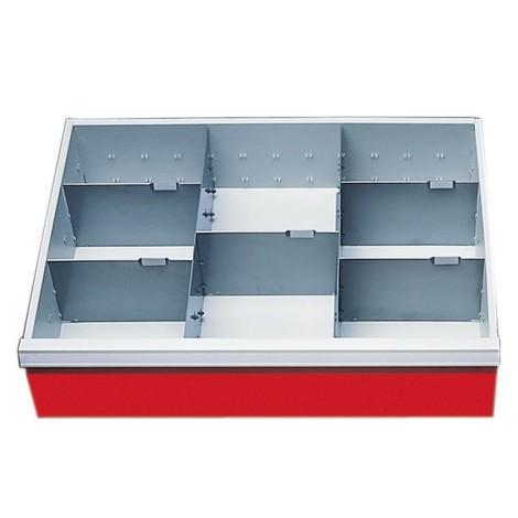 Schubladeneinteilung für schwere Werkbänke
