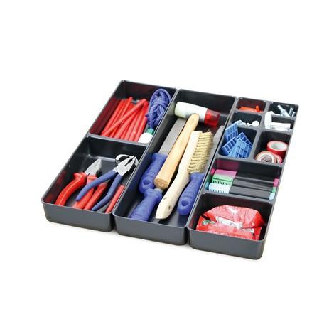 Schubladeneinteilung für Stahlschränke stumpf® Premium