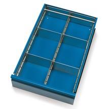 Schubladeneinteilung für Werkstattwagen fetra®