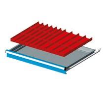 Schubladeneinteilung mit Mulden für Schubladenschränke