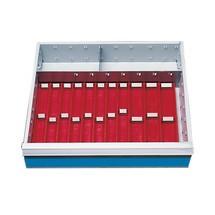 Schubladeneinteilung mit Mulden für Werkstattwagen