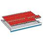 Schubladeneinteilungen für Schubladenschränke. Breite 1023 mm