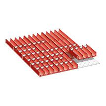 Schubladeneinteilungen für Schubladenschränke. Breite 564 mm
