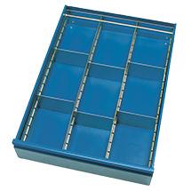 Schubladeneinteilungen für Werkstattwagen fetra®