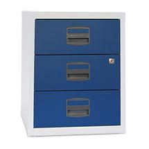 Schubladenschränke Premium, auf Rollen, 3 Materialschübe